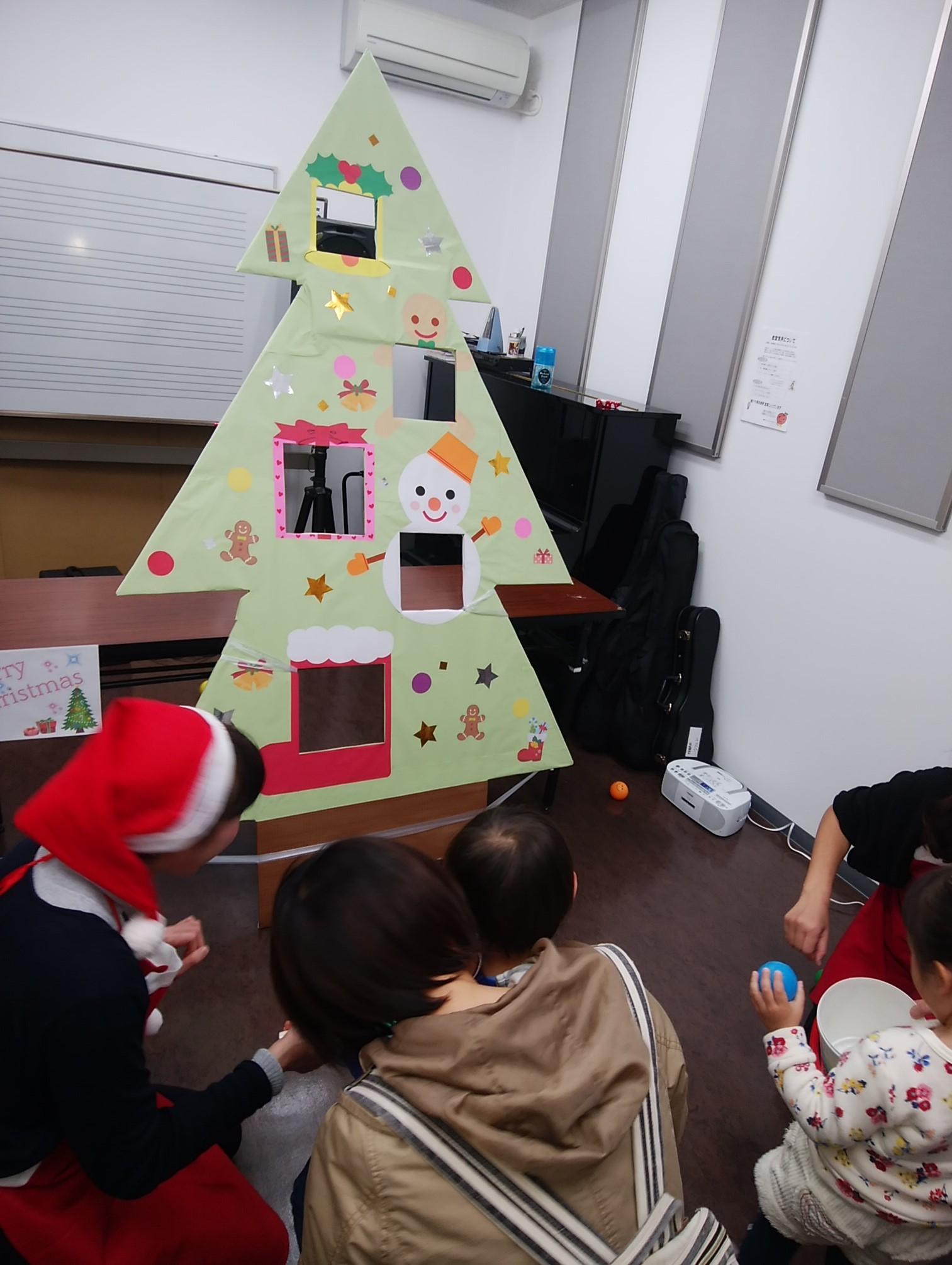 ⑤クリスマスツリー トス